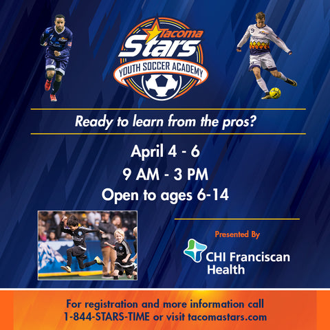 Stars Youth Academy - April 4-6 Camp Half Day Camp