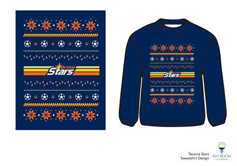 Tacoma Stars Holiday Sweatshirt
