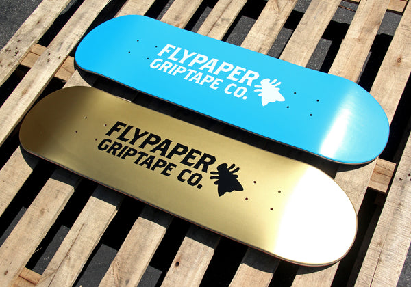 Flypaper Logo Decks