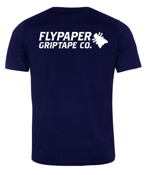 Flypaper Logo T-Shirt Navy