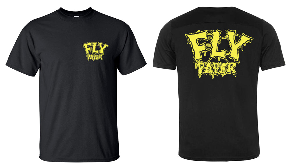 Flypaper Retro Splatter T-Shirt Black