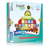 Magnetic Stick N Stack, Accessory Set, 100 Pieces