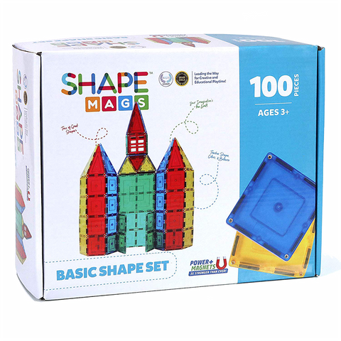 100 pcs Basic Shape Set