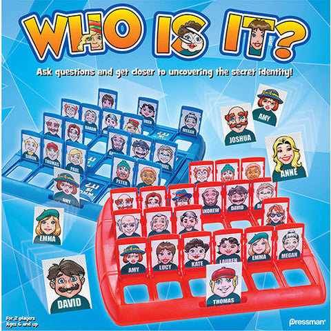 Who Is It? Game, 2 Players