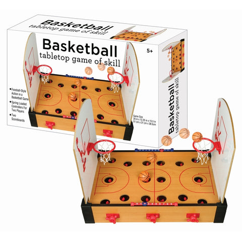 Tabletop basketball