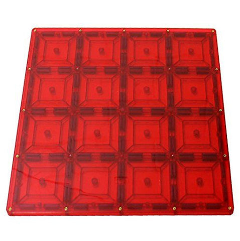 Magnetic Stick N Stack Stabilizer, 12 x 12-Inch Red Base