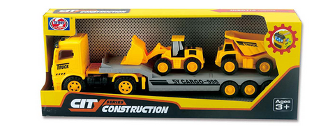 Construction Tractor Trailer