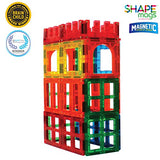 Award Winning Magnetic Stick N Stack 24 Piece Window, Fences and Doors Set, made with Power+Magnets