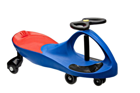 High Bounce, Rolling Coaster, Wiggle Race Plasma Car, Premium Scooter (True Blue)