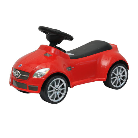 Mercedes SLK 55 AMG Push Ride Along Baby Walker - Red