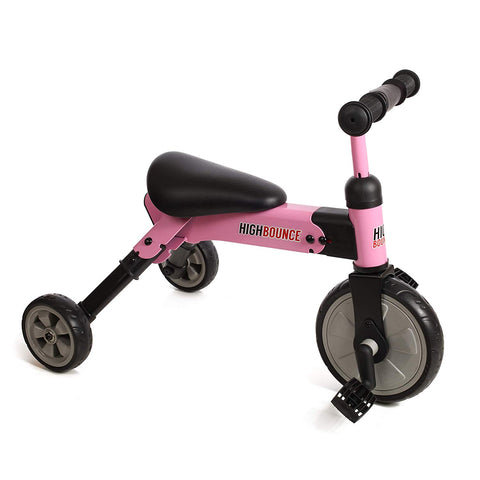 High Bounce 2 in 1 Toddler Trike, Switch from Balance Bike to Trike
