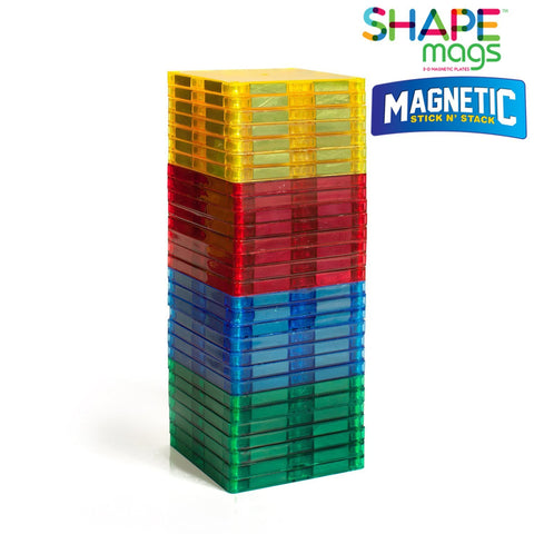 Magnetic Stick N Stack 30 pieces JUST 3x3 SQUARES