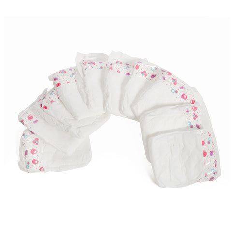 Mommy & Me Baby Doll Diapers - 10 Pack