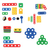 Build & Imagine Creative Builder Blocks 87 Piece Set In A Storage Container