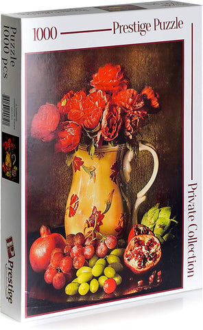A Fruit Still Life, 1000 Pcs Jigsaw Puzzle, Private Collection by Prestige Puzzles