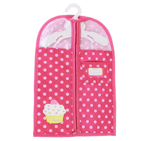 Garment Bag To Fit American Girl Doll Clothing (HANGER NOT INCLUDED)