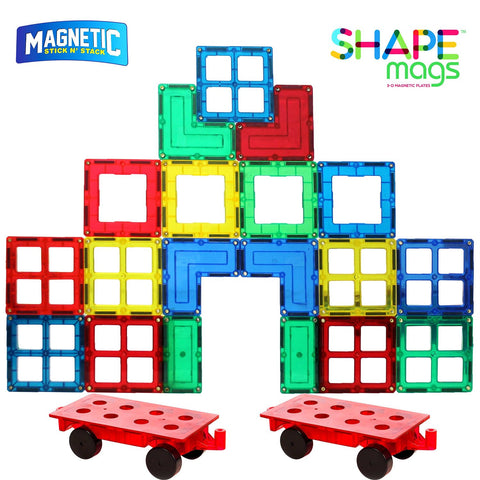 Magnetic Stick N Stack, Accessories set, 42 Pieces