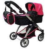 Mommy & me 2 in 1 Deluxe doll stroller (view all photos) 9620 - Toys 2 Discover - 1