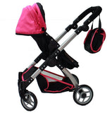 Mommy & me 2 in 1 Deluxe doll stroller (view all photos) 9620 - Toys 2 Discover - 4