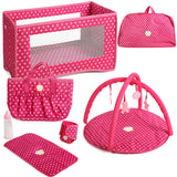 Beverley Hills Doll Collection 4 in 1 Doll Playset, with Storage Bag