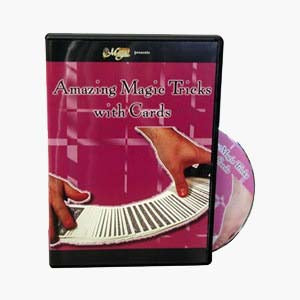 AMAZING MAGIC TRICKS WITH CARDS - DVD