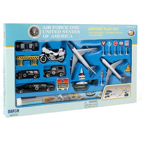 Air Force One Airplane Set