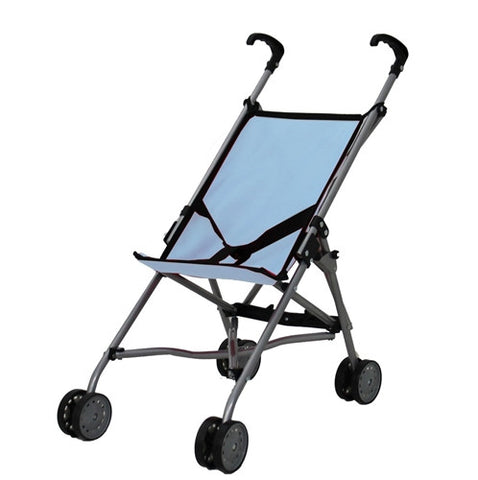 Mommy & Me, Umbrella Doll Foldable Stroller, Blue (S9302)