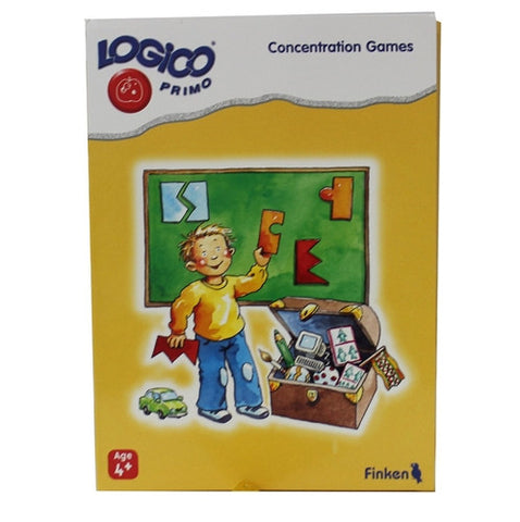 LOGICO Educational Learning Cards, Concentration, Ages 4+