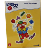 LOGICO Educational Learning Cards, Colors/Shapes, Ages 3+ - Toys 2 Discover