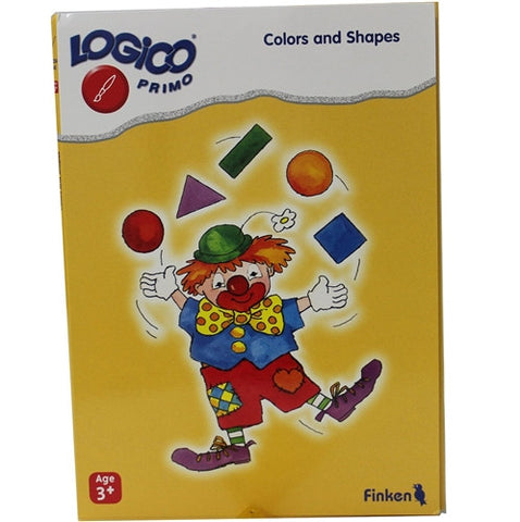 LOGICO Educational Learning Cards, Colors/Shapes, Ages 3+