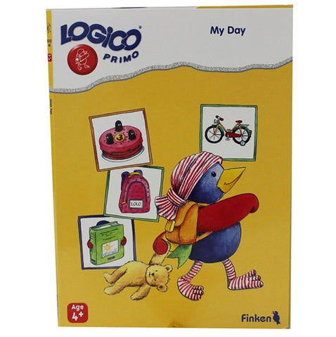 LOGICO Educational Learning Cards, My Day, Ages 4+