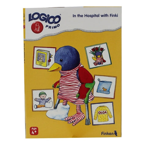LOGICO Educational Learning Cards, Hospital, Ages 4+