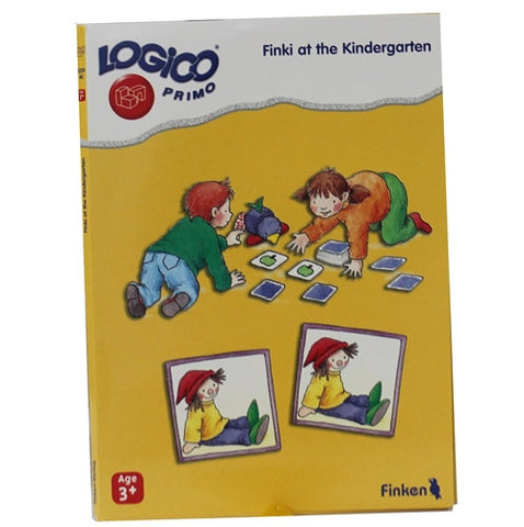 LOGICO Educational Learning Cards, Kindergarten, Ages 3+