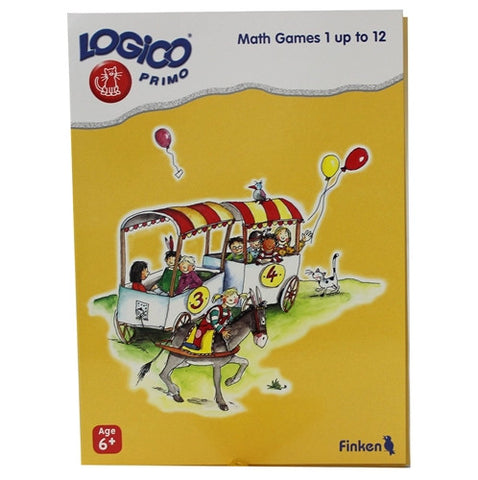 LOGICO Educational Learning Cards, Math, Ages 6+