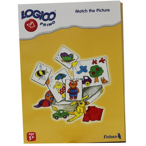 LOGICO Educational Learning Cards, Match, Ages 5+