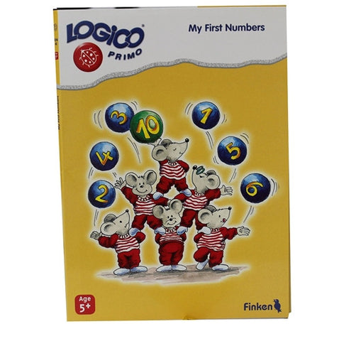 LOGICO Educational Learning Cards, Numbers, Ages 5+