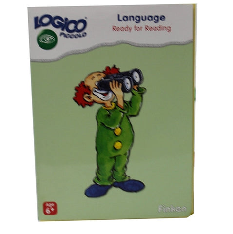 Set of 16 award wining LOGICO PICCOLO learning cards Language Ready for reading