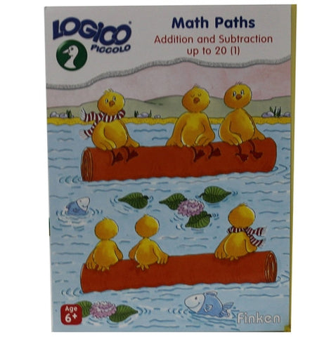 Set of 16 award wining LOGICO PICCOLO learning cards Math Paths Addition & subtraction 1-20 (vol 1)