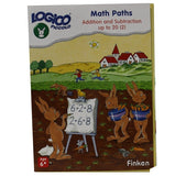 Set of 16 award wining LOGICO PICCOLO learning cards Math Paths Addition & subtraction 1-20 (vol 2) - Toys 2 Discover
