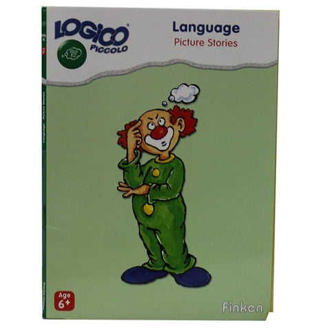 Set of 16 award wining LOGICO PICCOLO learning cards Language picture stories