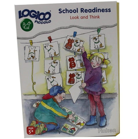 Set of 16 award wining LOGICO PICCOLO learning cards School readiness look & think