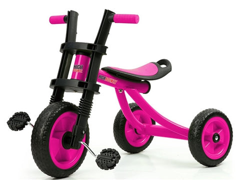 High Bounce Extra Tall Tricycle Ages 3-6 PINK