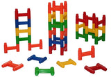 Classic H blocks, Ages 2+, 120 pieces - Toys 2 Discover - 1