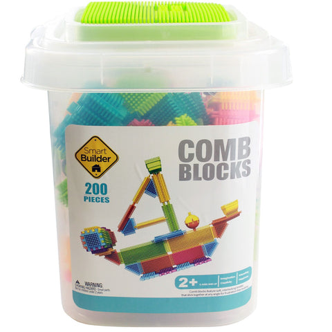 200 Piece Comb Blocks Included Figures and Animals