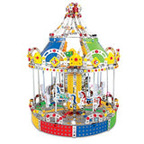 Carousel Merry Go Around Building Lights & Music 1423 pcs