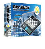 Voice Master Electronic Chess and Checkers Set with 8-In-1 Board Games - Toys 2 Discover - 4