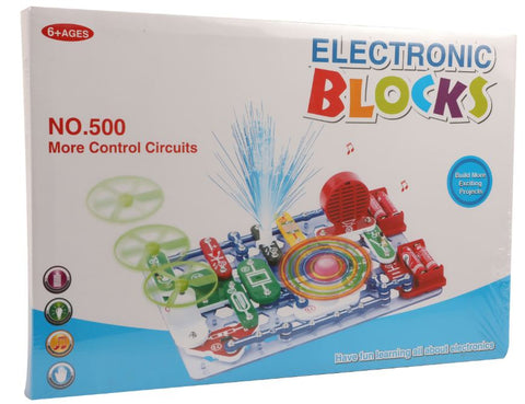 Electronic Blocks - 500 Pieces