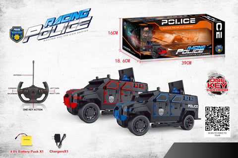 Remote Control Police SWAT Truck - Only 1 Truck Included