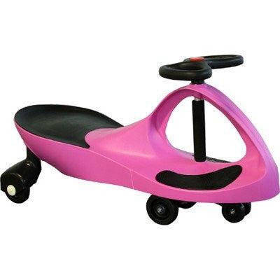 High Bounce, Rolling Coaster, Wiggle Race Plasma Car, Premium Scooter (Wink Pink)