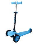 High Bounce Glider Deluxe Scooter with T-bar handle (Blue)